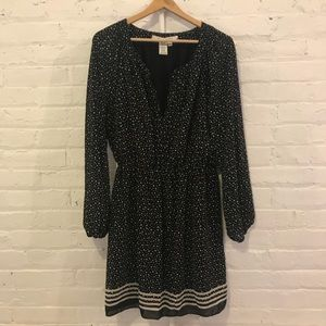 Max Studio Elastic Waist dress